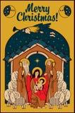 Adoration des magi illustration libre de droits