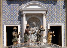 Adoration des Rois mages, ` Orologio de vallon de Torre sur Piazza San Marco, Venise Image libre de droits