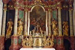 Adoration of Magi Stock Image