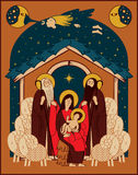 Adoration of the Magi Stock Image