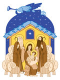 Adoration Of The Magi Royalty Free Stock Images
