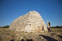 Adore el naveta prehistórico Imagenes de archivo