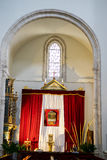 Adore, semana santa en España, las imágenes de vírgenes y del representatio Imagenes de archivo