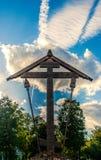 Adorez la croix photos libres de droits