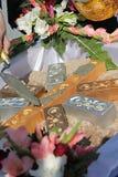 Adorez la préparation pour la première installation de pilier de la cérémonie de base chez la Thaïlande photographie stock
