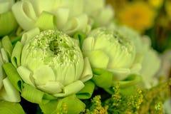 Adorez le lotus du style thaïlandais traditionnel image libre de droits