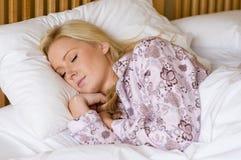 Adormecido Fotografia de Stock Royalty Free