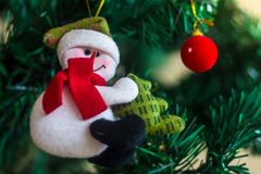 Adorn for christmas tree. For celebrate stock image