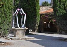 Adornado bien en la iglesia de Ialyssos Foto de archivo libre de regalías