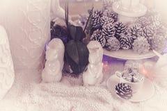 Adornado de la Navidad Foto de archivo libre de regalías