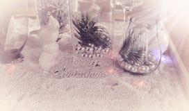 Adornado de la Navidad Imágenes de archivo libres de regalías