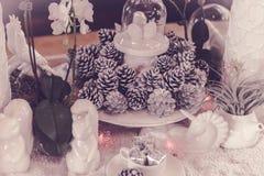 Adornado de la Navidad Imagenes de archivo