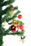 Adornado de la Navidad y del día de año nuevo. Fotografía de archivo
