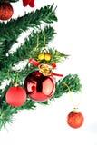 Adornado de la Navidad y del día de año nuevo. Fotografía de archivo libre de regalías