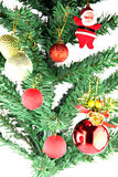 Adornado de la Navidad y del día de año nuevo. Foto de archivo libre de regalías
