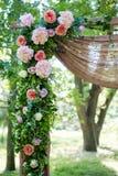 Adornado festivamente maravillosamente de flores Imágenes de archivo libres de regalías