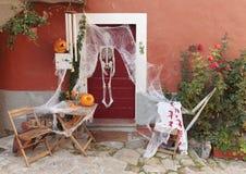 Adornado para Halloween Foto de archivo libre de regalías