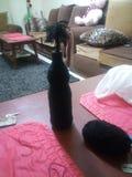 Adornamiento de la botella Fotografía de archivo