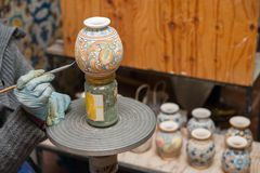 Adornamiento de la cerámica Imagenes de archivo