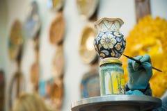 Adornamiento de la cerámica Fotos de archivo