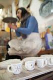 Adornamiento de la cerámica Imagen de archivo libre de regalías