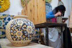 Adornamiento de la cerámica Imágenes de archivo libres de regalías