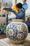 Adornamiento de la cerámica Foto de archivo libre de regalías
