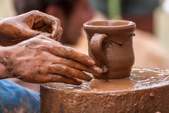 Adornamiento de la cerámica Fotografía de archivo