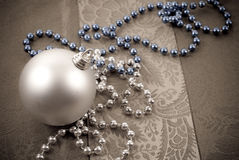 Adornamiento de la Navidad Fotografía de archivo