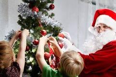 Adornamiento de la Navidad Imagenes de archivo