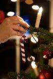 Adornamiento de la Navidad Foto de archivo libre de regalías