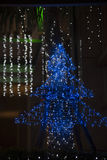 Adornamiento de la Navidad del estilo Imagenes de archivo