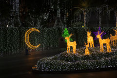 Adornamiento de la Navidad del estilo Foto de archivo libre de regalías
