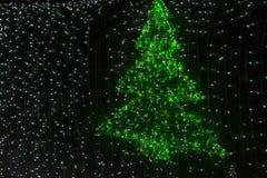 Adornamiento de la Navidad del estilo Imagen de archivo