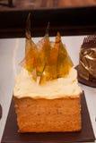 Adornamiento de la torta Fotografía de archivo