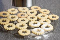 Adornamiento de las galletas Foto de archivo