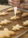 Adornamiento de las galletas Imagen de archivo