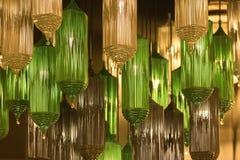 Adornamiento de las lámparas modernas de la linterna del estilo Foto de archivo