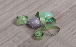 Adornamiento de los huevos de Easiter Imagenes de archivo