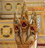 Adornamiento de un crematorio para la ceremonia real de la cremación Imagen de archivo libre de regalías
