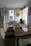 Adornamiento de un restaurante Foto de archivo libre de regalías