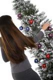Adornamiento del árbol de la oficina Imagen de archivo