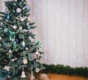 Adornamiento del árbol de navidad hermoso Fotografía de archivo