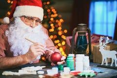 Adornamiento del juguete de la Navidad Imagen de archivo