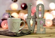 Adornamiento interior casero del amor Imágenes de archivo libres de regalías