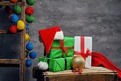 Adornamiento para el día de fiesta de la Navidad Foto de archivo
