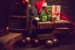 Adornamiento para el día de fiesta de la Navidad Imagen de archivo