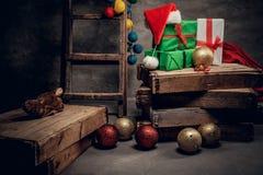Adornamiento para el día de fiesta de la Navidad Foto de archivo libre de regalías