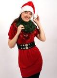 Adornamiento para la Navidad Imágenes de archivo libres de regalías