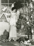 Adornamiento para la Navidad Imagen de archivo libre de regalías